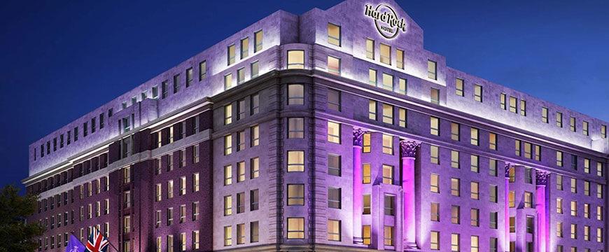 Das erste Hard Rock Hotel Englands eröffnet 2018