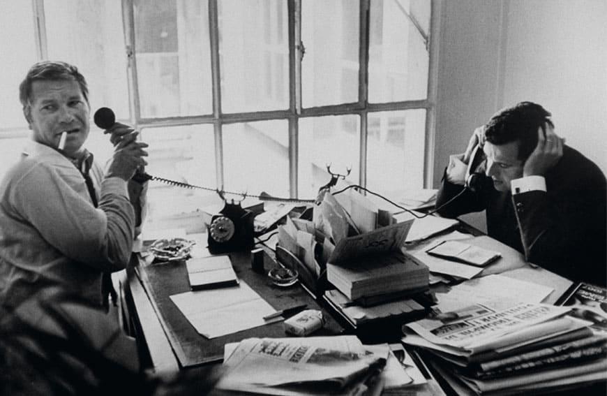 Henri Gault (li.) und Christian Millau