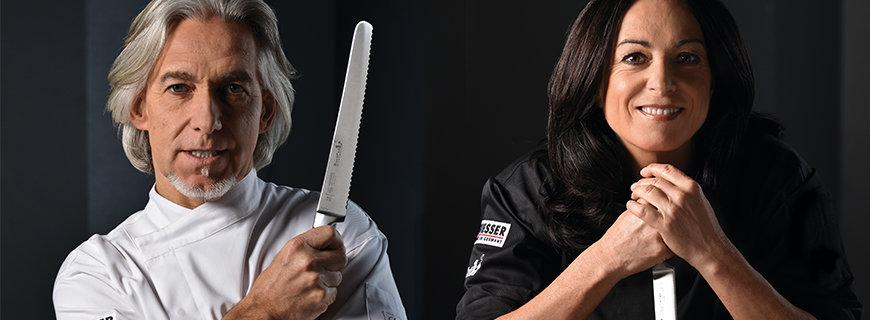 Messer aus der Giesser-BestCut-Serie