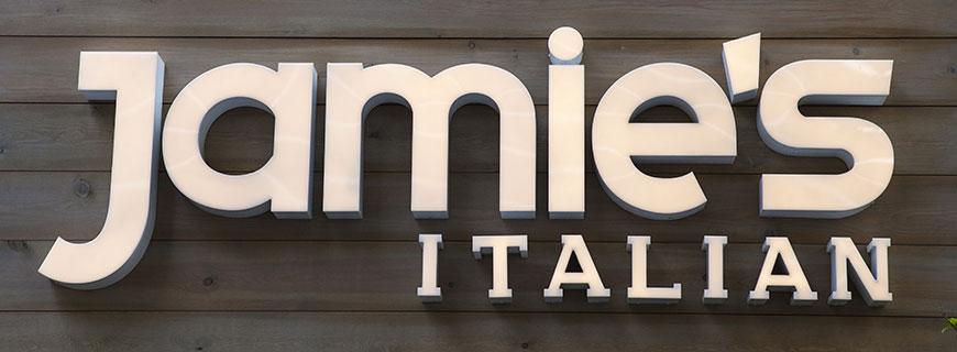 Jamie's Italian ist eine Restaurantkette des britischen TV-Kochs Jamie Oliver