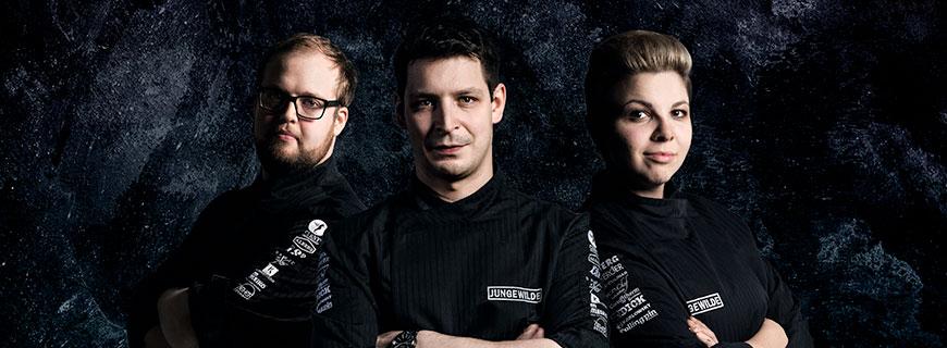 Joachim Jaud, Stefan Marquard und Matthias Bernwieser