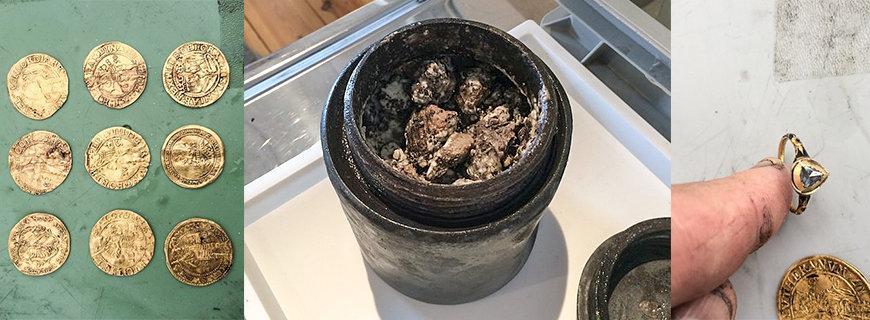 im Schiffswrack gefunden: Goldmünzen, Käse und Diamantring