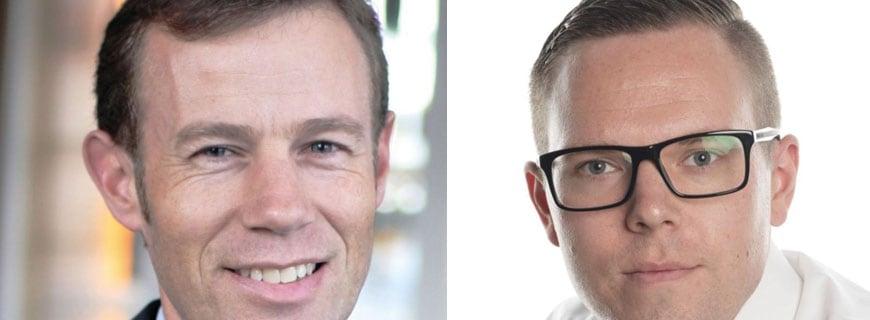 Roland Rhyner und Benedikt Theisen