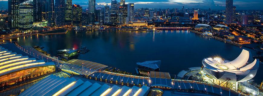 Karriere in Singapur