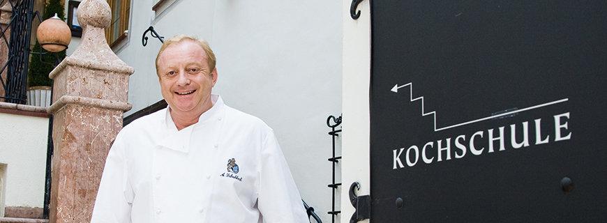 Alfons Schuhbeck, vor seiner Kochschule