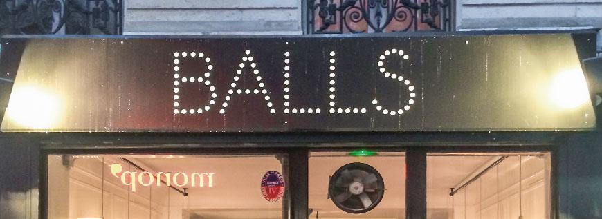 Balls-gerolltes Hackfleisch