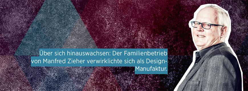 Porträt von Manfred Zieer, Chef der Design-Manufaktur Zieher