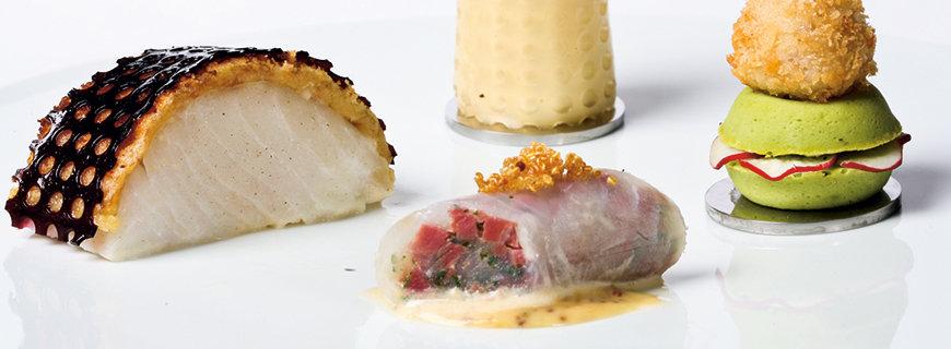 kulinarische Ideen für den  Bocus d'Or-Wettbewerb