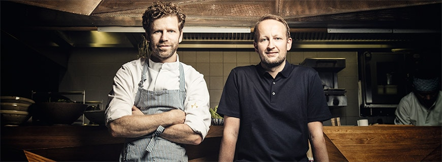 Edi Dimant und Tobi Müller, Restaurant Mochi