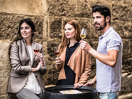 Social Sherry Tasting für Gastro Profis