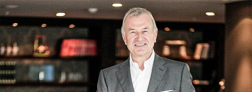Dieter Müller, CEO und Gründer von Motel One.