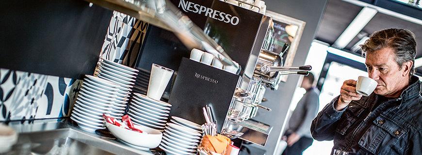 Nespresso im Hotel Schani