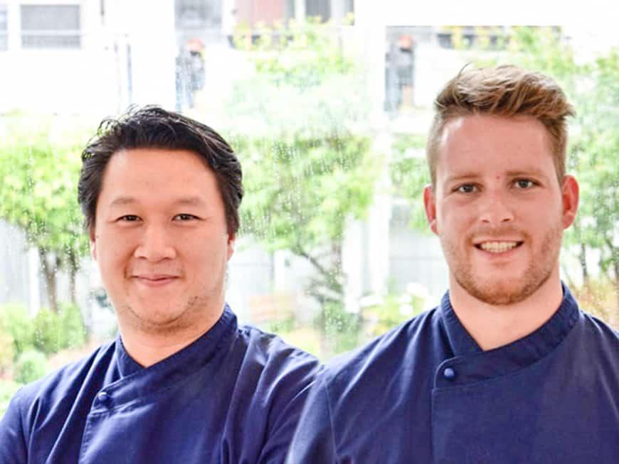Küchenchef Van Hung Nguyen und Pâtissier Mark Roth