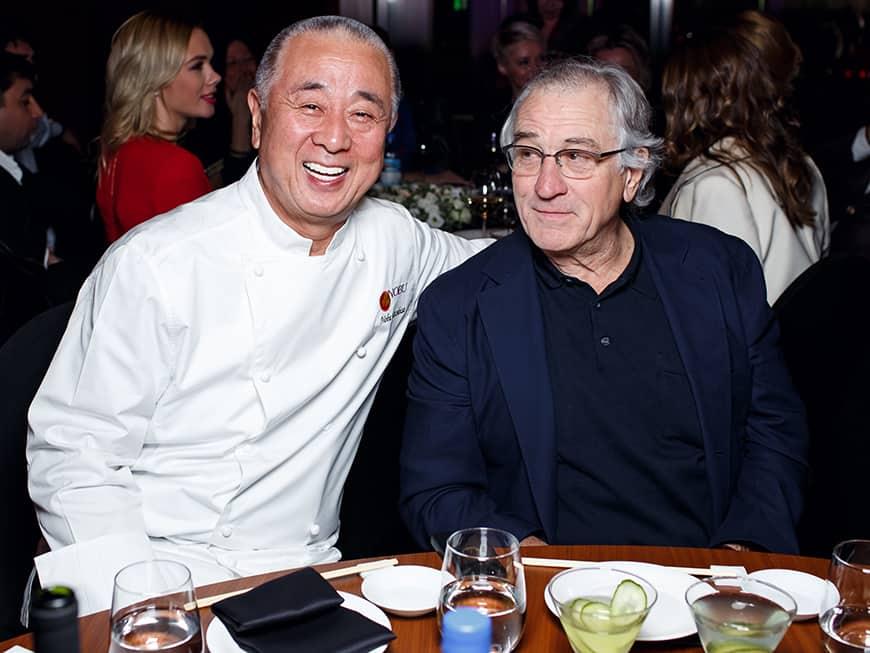 Nobu Matsuhisa (li.) und Robert de Niro