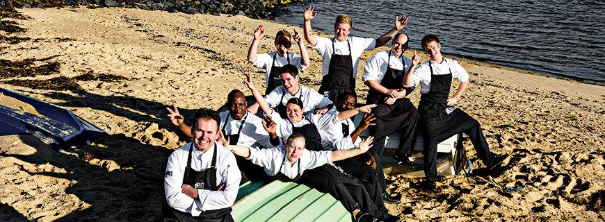 Jens Rittmeyer, Chef im Sternerestaurant KAI13