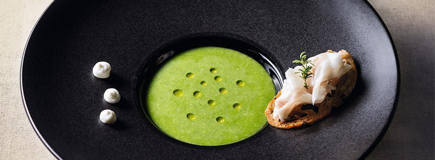 Kopfsalat-Gazpacho