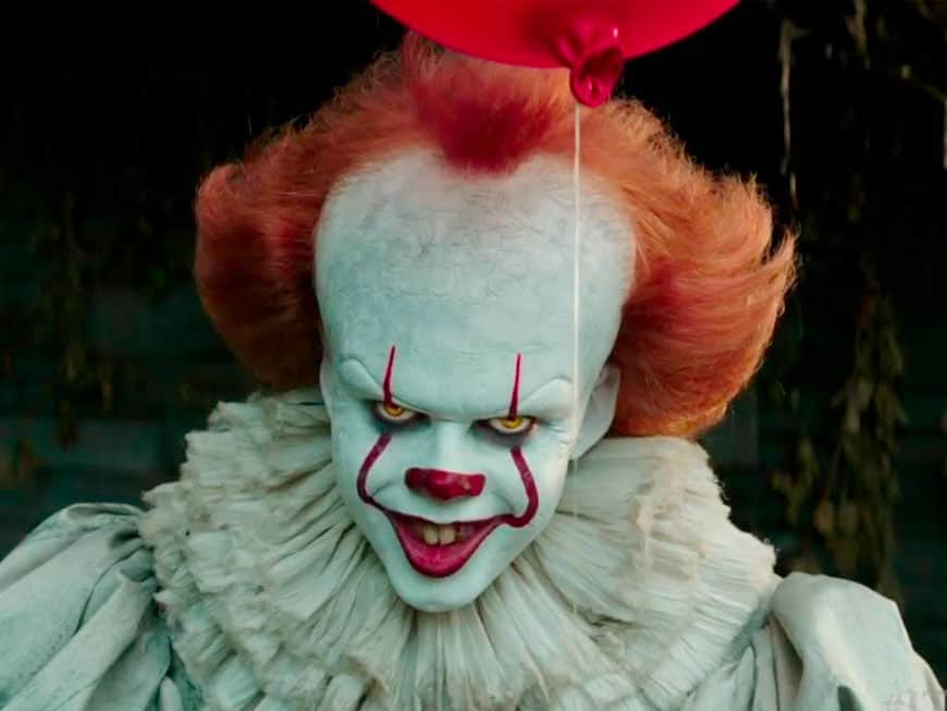 "Horror-Clown Pennywise aus dem Film ""Es"" von Stephen King"