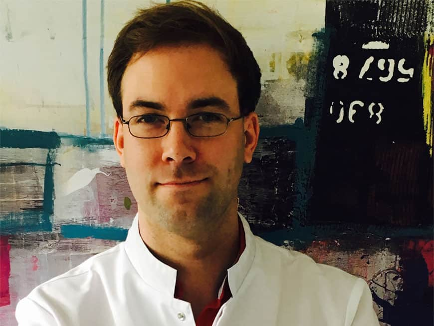 Florian Peters ist neuer Chef de Cuisine im Vox Restaurant im Grand Hyatt Berlin.