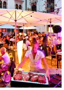 el Gaucho-Restaurant Terasse