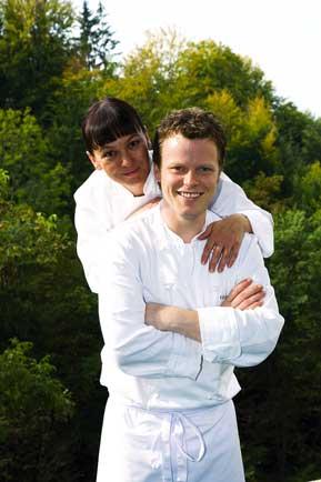 Gerhard Fuchs und seine Partnerin Yvonne Schwarzinger