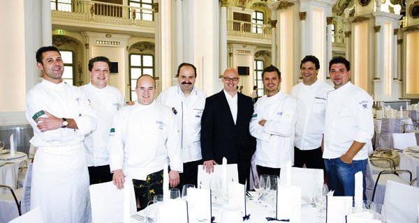 das Team des GourmetReise Festival 2008