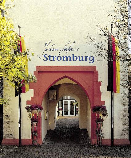 Eingangsbogen von Johann Lafers Stromburg