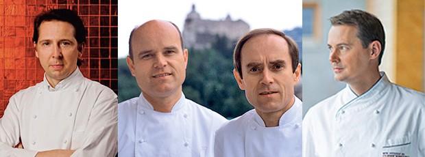 Heinz Reitbauer, Karl und Rudolf Obauer, Simon Taxacher