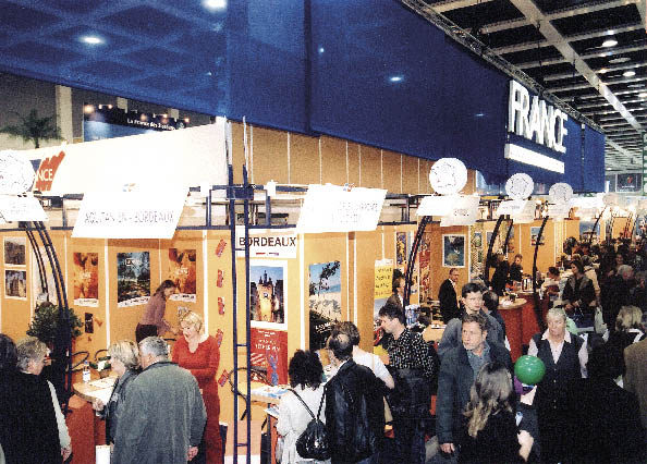 zu sehen sind besucher der weltgrössten Tourismusbörse in Berlin