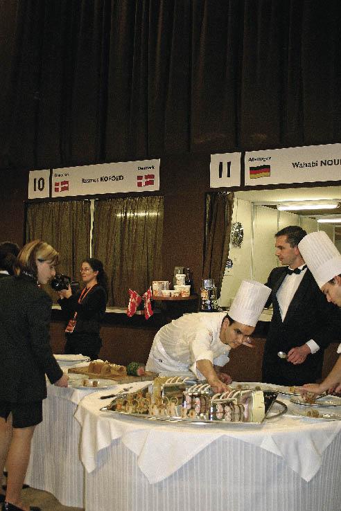 Bocuse d`Or 2005 in der Vorbereitung