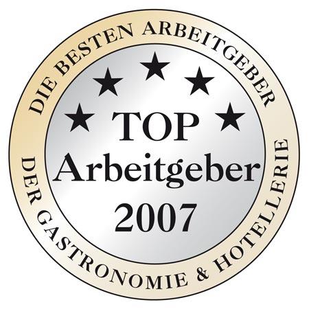 das logo der Top-Arbeitgeber 2007
