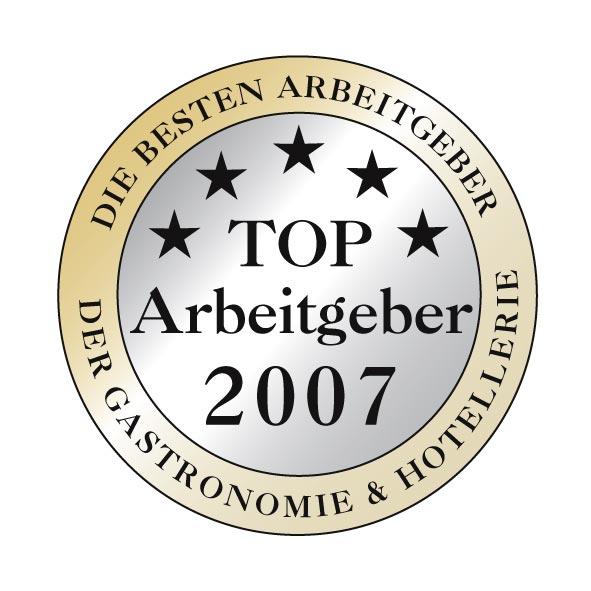 das Logo des Top-Arbeitgeber des Jahres 2007