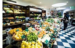 ein Bio Lebensmittel Supermarkt