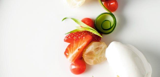 Apfelholz – Erdbeere – Gurke – Sour Cream