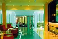 die Lobby des Le Meridien