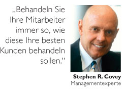 Stephen R. Covey im Portrait