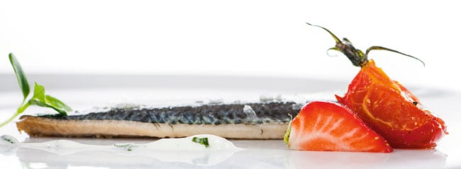 Sardine – Erdbeere – Tomate – Cognac