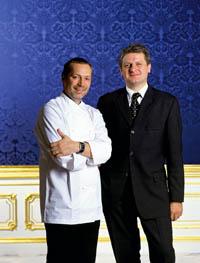 Küchenchef Christian Petz und Restaurantleiter Karl Seiser