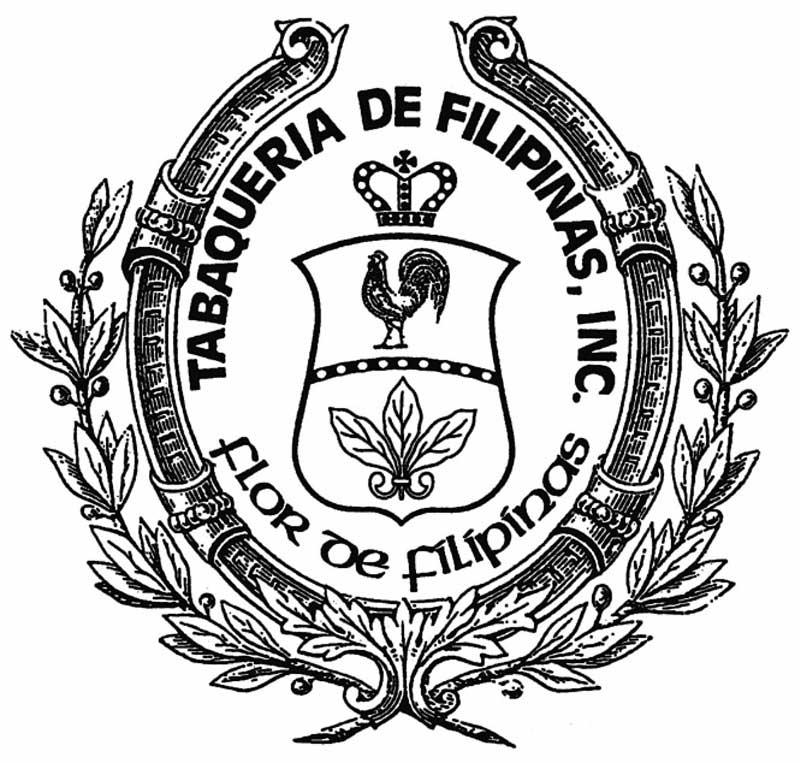 flor de filipinas tabaqueria de filipinas logo