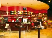 Cafe Theke des Meinl am Graben
