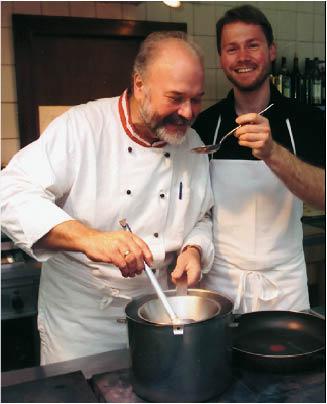 josef trippolt senior und junior beim kochen