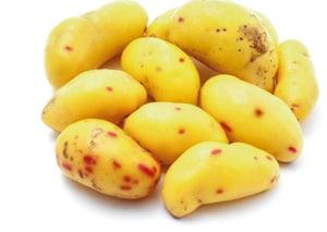 Olluco sieht aus wie Kartoffeln