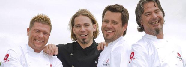 vier neue Kochprofis bei RTL II