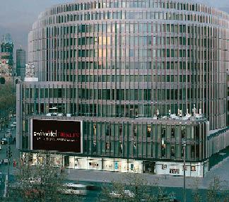 Das Swisshotel in Berlin von Aussen