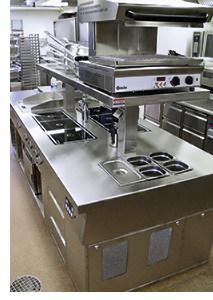 Moderne Küchentechnik