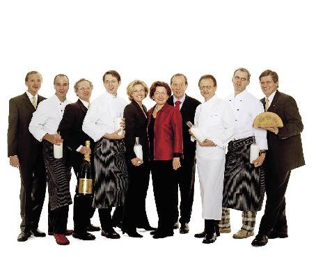 Das Team des Steierecks in Wien