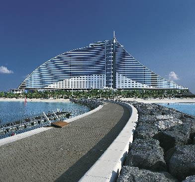 Jumeirah Beach Hotel von Außen