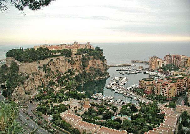 ein Blick über Monaco