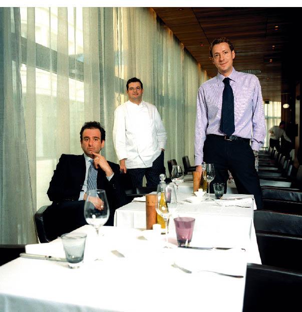 Fabio Giacobello, Küchenchef Christoph Brunn-huber, Restaurantleiter Michael Kahovec