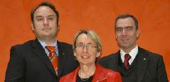 Mag. Franz Pasler, Gerhard Messinger und  Isolde Stadlmann