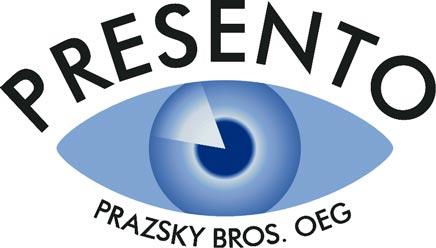 Das Logo der werbefirma presento